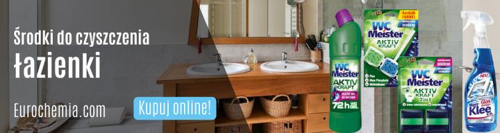 Środki do czyszczenia łazienki - Eurochemia.com