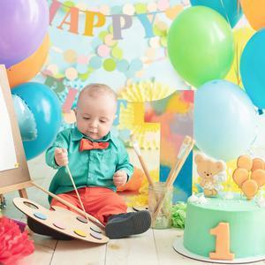 Roczek dziecka - zabawy na urodziny
