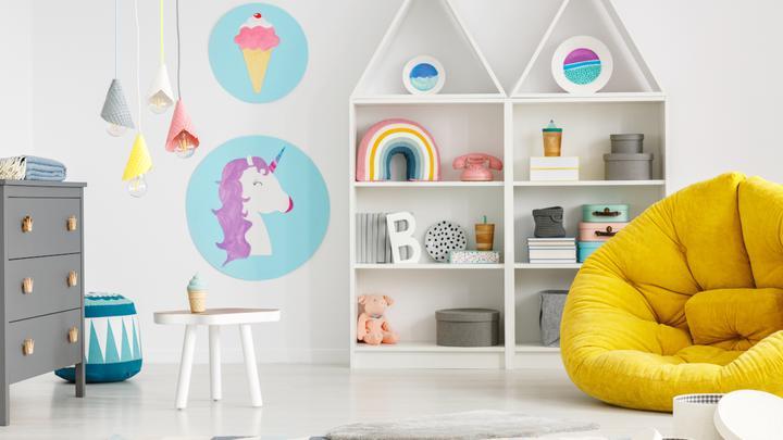 Dodatki do pokoju dziecka: dekoracje do pokoju dziecka