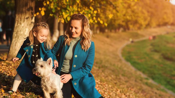 Jesienno – zimowy outfit dla mamy i dziecka
