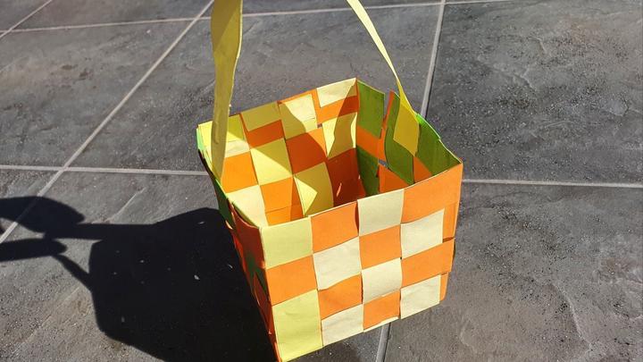 Ozdoby wielkanocne DIY – koszyczek wielkanocny