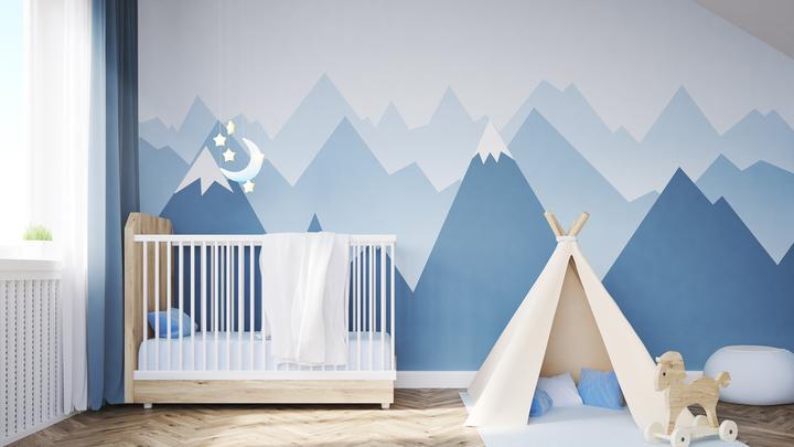 Pokój dla niemowlaka - kolory ścian, meble i akcesoria